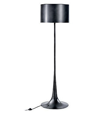 Regina Andrew Design Trilogue Black Iron Floor Lamp
