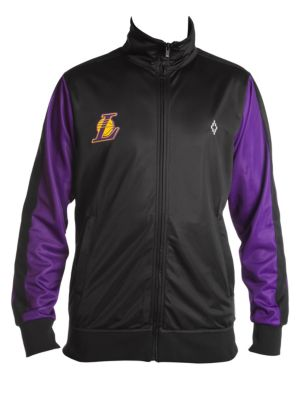 Marcelo Burlon La Lakers Logo Tracksuit Jacket