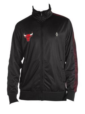 Marcelo Burlon Chicago Bulls Logo Tracksuit Jacket