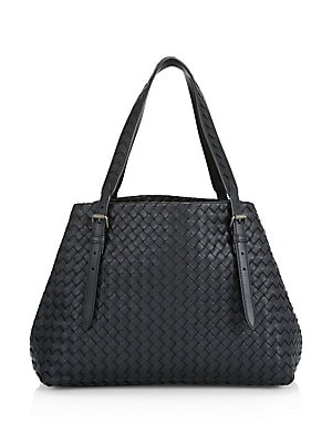 Bottega Veneta - Intrecciato Nappa Large Leather Tote - saks.com 1dce18bb4e