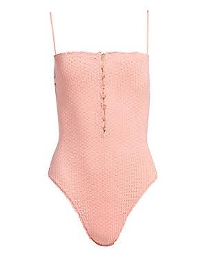 8d3bbe3d9a2b3 ViX by Paula Hermanny - Romance Scales One-Piece Bikini - saks.com