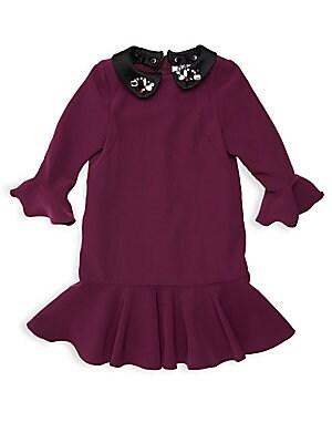 b596141477e Milly Minis - Little Girl s   Girl s Bridgette Embellished Collar Dress -  saks.com