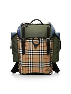 506e9b505ef Burberry. Ranger Check Backpack