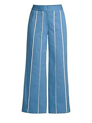 a2dab98579ab Derek Lam - Plaid Flare-Leg Trousers - saks.com