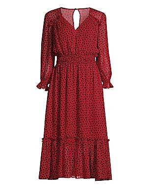 0e3f04ce0d5e GANNI - Sandwashed Silk Maxi Dress - saks.com
