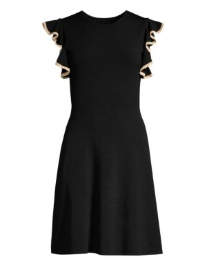 Shoshanna Saya Knit Fit Amp Flare Dress