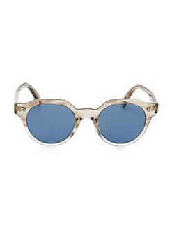 8d54fc1a79 Oliver Peoples. Irven 50MM Military Sunglasses