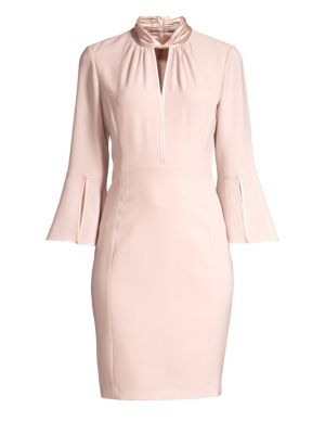Dorothea Fluid Crepe Dress by Elie Tahari