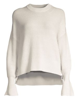 Bell Sleeve Wool Sweater by The Kooples