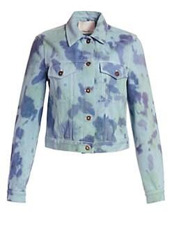 094ae2f945f9 3.1 Phillip Lim. Tie-Dye Denim Jacket