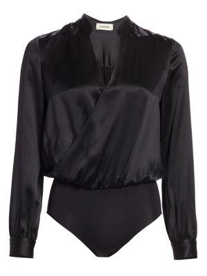 Marcella Silk Bodysuit by L'agence