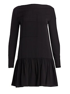 Silk Drop-Waist Dress BLACK. QUICK VIEW. Product image. QUICK VIEW. 3.1  Phillip Lim dcdeb8967