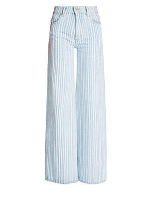 355dd14067cc Frame - Le Bardot Crop Flare-Hem Jeans - saks.com