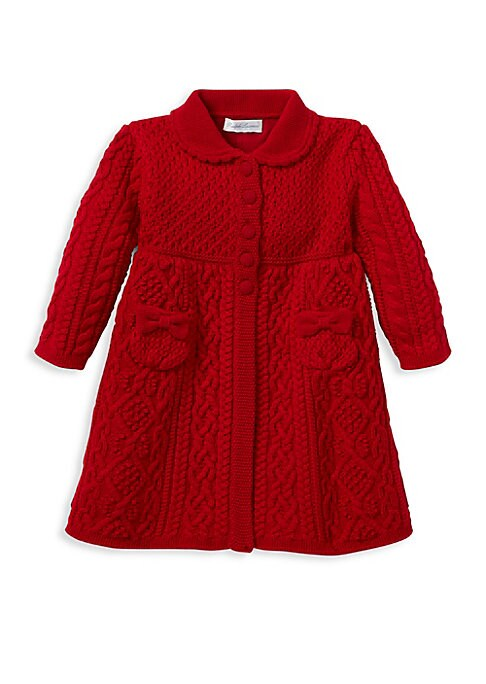 Baby Girls Wool Sweater Coat
