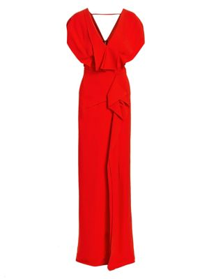 Lorre Layered Column Gown by Roland Mouret