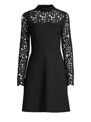 Jenessa Lace Trimmed Dress by Elie Tahari