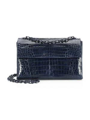 Nancy Gonzalez Madison Crocodile Shoulder Bag