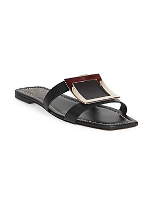 9b867e6ba85 Off-White - Zip-Tie Jelly Sandals - saks.com