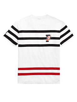 746d84ff Product image. QUICK VIEW. Polo Ralph Lauren. Cotton Stripe Tee
