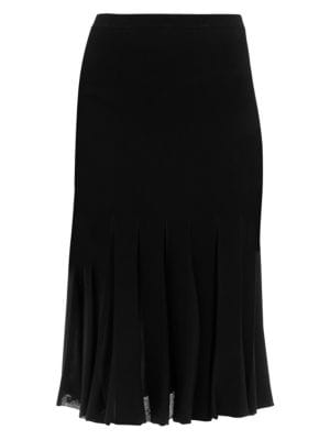 Pleated Midi Skirt by Theory