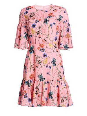 Borgo De Nor Alba Floral Mini Dress
