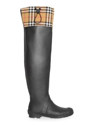 Burberry Freddie Rubber Rain Boots