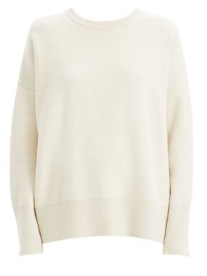 Relaxed Wool Blend Drop Shoulder Sweater by Theory