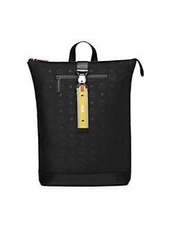 5182d224ba MCM. Resnick Monogrammed Nylon Backpack