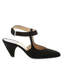 cef7be65e916 QUICK VIEW. Laurence Dacade. Tosca Mary Jane Suede Heels