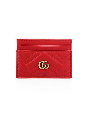 90226ccdc4a Gucci - Marmont Leather Card Case