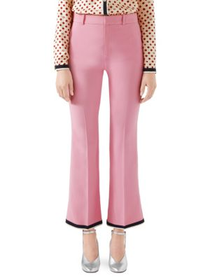 Gucci Cady Stretch Bootcut Pants