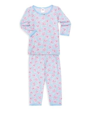 Esme Little Girl S Girl S Two Piece Pig Pajama Set