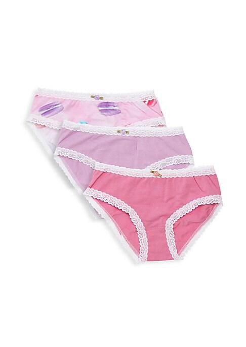Girls Macaroon ThreePack Underwear Set
