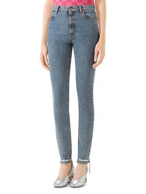 Gucci Star Skinny Jeans