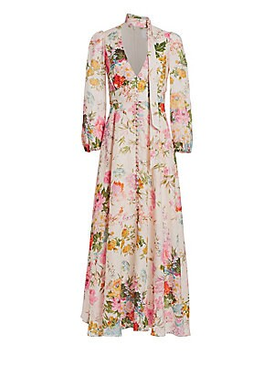 983cb177b19 Zimmermann - Heathers Floral Linen Maxi Dress - saks.com