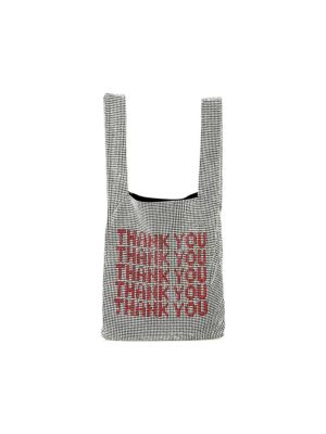 Mini Wanglock Crystal Embellished Shopper by Alexander Wang