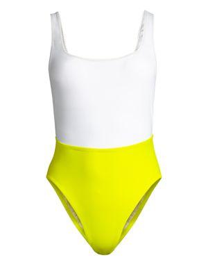 KORÉ Nyx One-Piece Swimsuit in Slate
