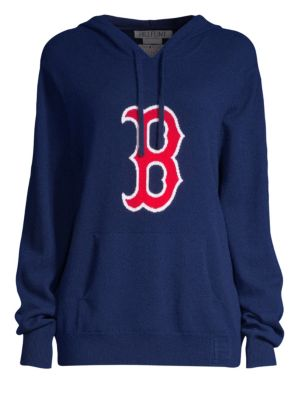 Boston Red Sox Cashmere Hoodie in Blue