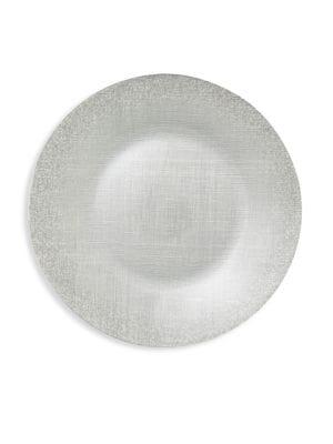 Vietri Glitter Glass Large Plate