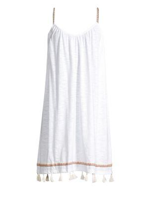 Pitusa Mallorca Tassel Hem Dress