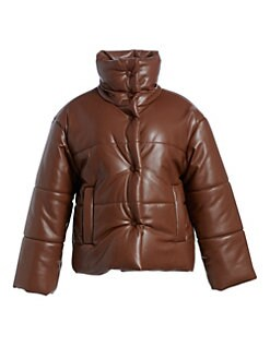 bd57a6158626c QUICK VIEW. Nanushka. Vegan Leather Puffer Jacket