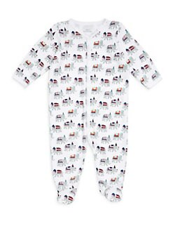 1320a31f2f Product image. QUICK VIEW. Roller Rabbit. Baby Girl s Party Animal Footie