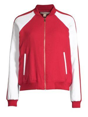 Michael Michael Kors Jackets Stripe Track Jacket