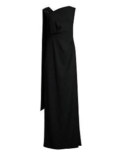 42ecae83004c7 QUICK VIEW. Escada. Geanna Embroidered Scarf Dress