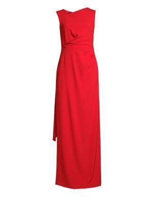 Geanna Scarf Detail Dress by Escada