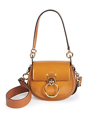 6bdfa318e8c Chloé - Small Tess Patent Leather Saddle Bag - saks.com