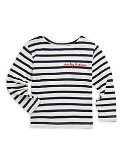 2b1e1fcb2 Little Kid's & Kid's Sailor Tee WHITE. QUICK VIEW. Product image
