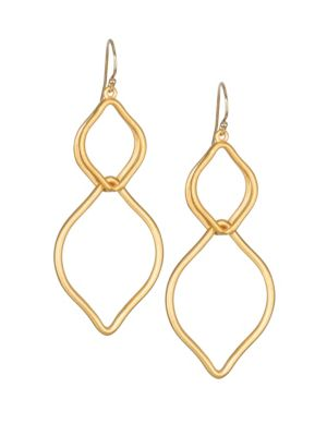 Dean Davidson Sahara 22k Goldplated Earrings