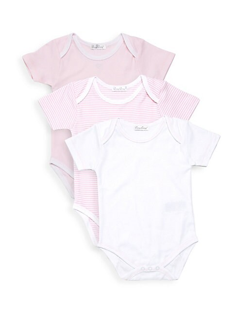 Baby Girls Kissy ThreePiece ShortSleeve Bodysuit Set