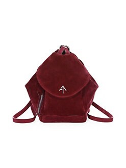 Product image. QUICK VIEW. Manu Atelier. Mini Fernweh Suede Backpack 992ed62700bcf